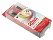 Кабель HDMI -> micro HDMI V1.4 <1,8м> Vcom черный