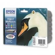 C13T11174A10 Набор картриджей Epson T0817 T50/1410 (все цвета)
