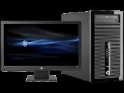 HP Pro 400 G1 в корпусе Microtower, комплект (D5U43EA)