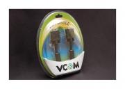 Кабель VCOM SVGA 15m/15m 2 фильтра PRO 1.8м блистер