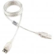 CCP-USB2-AMAF-6 Кабель удлинительный Gembird PRO USB 2.0 1.8м AM/AF  позол. кон